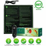20x20 Seedfactor Seedling Heat Mat Seed Germination With Thermostat Controller