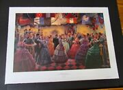 Mort Kunstler - Candlelight And Roses - A/p - Collectible Civil War Print - Mint