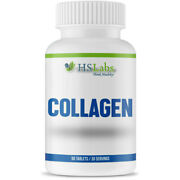 Hs Labs Collagen 90 Caps Anti-aging Hair Skin Nails And Joints Young Forever