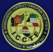 Fbi Dcis Eid Ncis Afosi Icctf Corruption Task Force Challenge Coin M-9