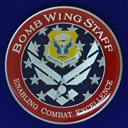Usaf 509th Bomb Wing Staff Combat Challenge Coin M-8