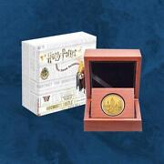 Niue - Harry Potterandtrade - Hogwarts Castle - 25 2020 Gold Pp - 1/4 Unze