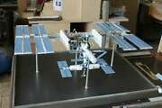 1144 Scale Model Of International Space Station Made Of Metal 30 Lenght