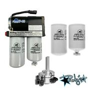 Airdog Ii-4g 100 Gph Lift Pump Extra Filters Sump Kit For 2008-2010 Ford 6.4l
