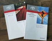 2014 Toyota Camry Hybrid Oem Main Owners Manual User Guide And Navigation Book