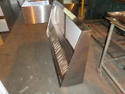 8 And039 Type L Hood Concession Kitchen Grease Hood / Truck / Trailer