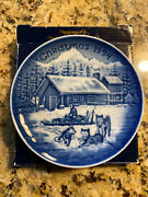 Limited Edition1994 Bing Andgrondahl Christmas In Americachristmas Eve In Alaska