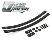 Fits 08-09 Ford F-250 Sd 2 Lift Long Add-a-leaf Kit Shims Helper Springs 4wd