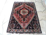 4x5ft. Handknotted Middle Eastern Wool Rug