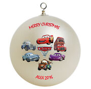 Personalized Custom Cars Christmas Ornament Gift Add Childs Name