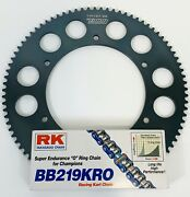 Rk Oring Chain Any Size 100-112 Link And Talon Sprocket For Kart Rotax X30 Cadet