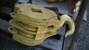 Crosby Laughlin Crane Snatch Block And Lifting Hook Double Sheave - In Nj
