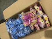 Pallet Of Childrenand039s Beach Shoes In Pink/blue.cheaper Than Wholesale 1152 Pairs