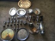 Silver Set Lots Of Assorted Pieces