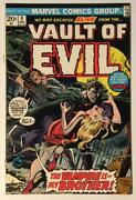 Vault Of Evil 8. Marvel 1973. Vf/nm Condition. Bronze Age Issue.