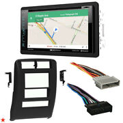 1997 - 2001 Jeep Cherokee Double Din Car Stereo Installation Dash Kit Bezel I