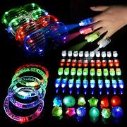 60 Pack Led Light Up Toys Glow In The Dark Party Supplies Party Pack Favors