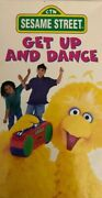 Sesame Street Get Up And Dance Vhs 1997-tested-rare Vintage Collectible-ship24hr