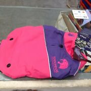 Touchdog Outdoor Series Sports Loving 2 In 1 Convertible Dog Jacket Pink And Purpl