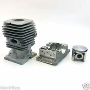 Mcculloch Pro Mac 610 650 655 Eager Beaver 3.7 46.5mm Cylinder Kit [94536]