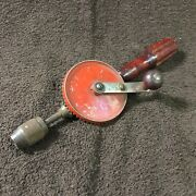Vintage Millerand039s Falls Tools Hand Drill No. 2500a Egg Beater Type Made In Usa