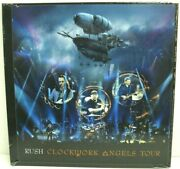 Rush Clockwork Angels Tour Limited Deluxe Edition Dvd rare New 1288/5000 Mint