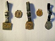 Vintage Watch Fobs - 5 Piece Lot 4 Including Lorain And More