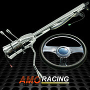 28 Auto Steering Column Gm And 14 Half Wrap Steering Wheel 9 Hole And Horn Button