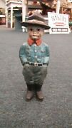 Cast Iron Doughboy Soldier Bank
