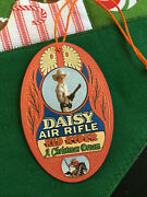 Hang Tag For Daisy Red Ryder A Christmas Dream Bb Gun - A Christmas Story