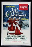 White Christmas ✯ Cinemasterpieces Original Movie Poster Winter Holiday 1954