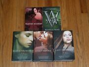 Vampire Academy Series By Richelle Mead Mixed Lot Of 2 Pb, 3 Hc Books Vg