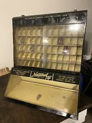 Antique Natural Tip Shoe Lace Store Countertop Display Cabinet Advertising Sign