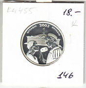 Canada 50 Cents 2002, Km455, Ontario, Silver, Proof