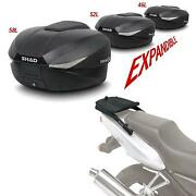 Tailgate Kit And Rear Trunk Case Sh58 Compatible With Yamaha Jog 50 2002-2011