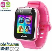 Kidizoom Smartwatch Dx2 Pink Educational Learning Watch Toy Electronic