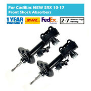 Pair Front Gas Suspension Shock Absorber Fit Cadillac New Srx 2009-2017 20834663