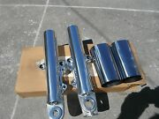 Harley Touring Polished Lower Legs And Tins 2014-2018 Flh Models No Exchange
