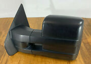 09 - 14 Ford F-150 Left Driver Tow Mirror No Power Very Good Condition