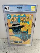 Cgc 9.6 Batman 386 Dc Comics 8/85 1st Black Mask App