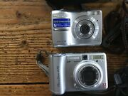 Canon Powershot A75 And Olympus Fe210 Selling Together