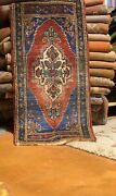 Antique 1900-1930s Turkish Tribal Rugs 1'8× 3'9
