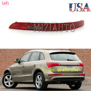 Rear Bumper Reflector Light For Audi Q5 2009-2016 Tail Lamp Left Driver Side Usa