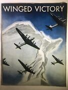 Winged Victory Program Book Play By Moss Hart 1940's Army Air Corps World War Ii