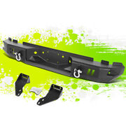 Steel Rear Step Bumper Face Bar Guard+d Ring For Ford F250 F350 Super Duty 99-16