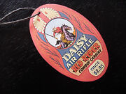 Red Ryder Hang Tag For Daisy Bb Gun 1938b No. 111 Model 40 Rifle Or 94 Carbine