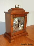 Vintage Hamilton Mantle Clock Made In West Germany