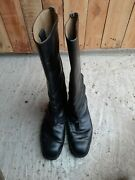 German Chrome Officer Army Boots Size 40 255