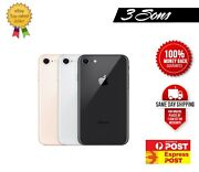 Apple Iphone 8 64gb 256gb Silver Grey Gold Red Unlocked Free Express Au Seller
