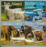 Lot Of 4 Childrenand039s Books Leaning About Animals Free Download App For Sounds